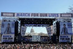 Gabriella Demczuk, March for Our Lives 2 3/24/18, Washington, D.C. David Hogg speaks at the March for Our Lives Rally in Washington, D.C. on March 24, 2018. Gabriella Demczuk / TIME