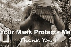 Rusty and Paula Leffel, Masks Protect Us All