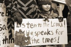 Rusty Leffel, Speaks for the Trees