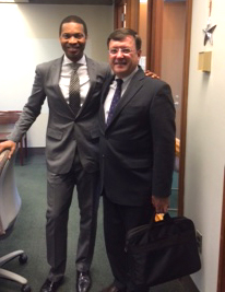 President O'Reilly Meets Dorsey, Chief of Education for the City of Boston