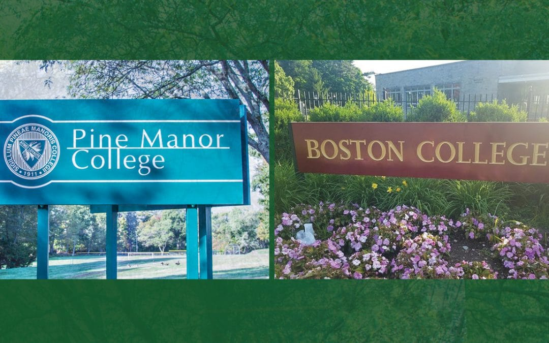 Pine Manor College and Boston College, Announce Institutional Agreement